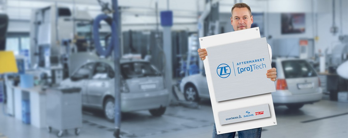 Pros in Driveline, Safety and Chassis Technology - ZF