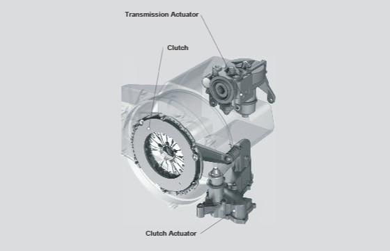 SACHS clutch location in the vehicle