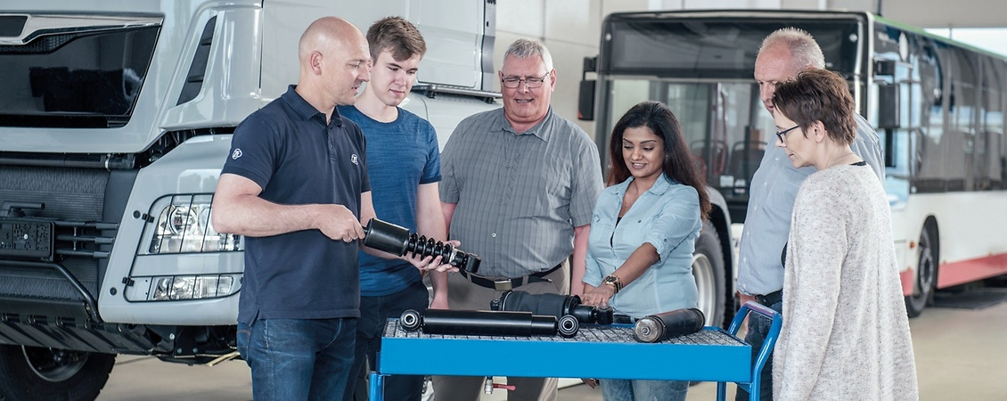 Book ZF Aftermarket trainings now