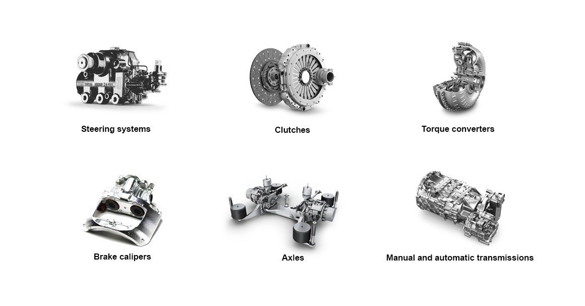 ZF remanufacturing products for commercial vehicles