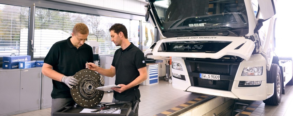 ZF Aftermarket workshop concept for buses and trucks