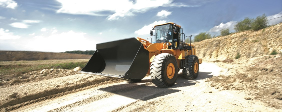 Powershift transmissions for construction vehicles
