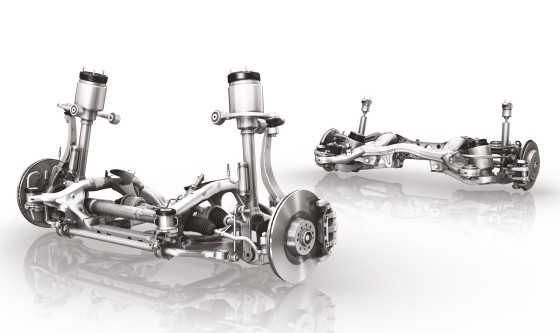 Car Axles for Passenger Cars and Light Commercial Vehicles