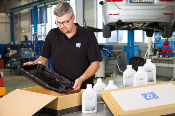 Oil change kits from ZF Aftermarket save time, money and stress