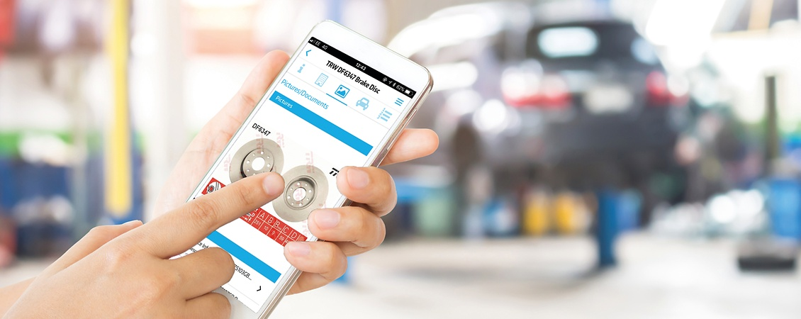 Discover the ZF Part Finder App