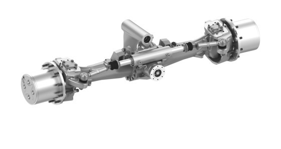 Construction and agricultural machinery ZF axles part