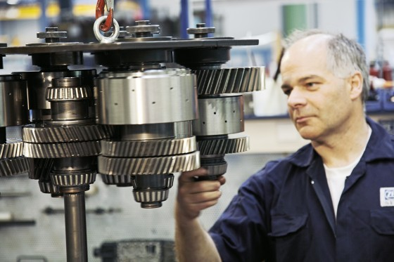 ZF Services repair and maintenance for construction and agricultural machinery