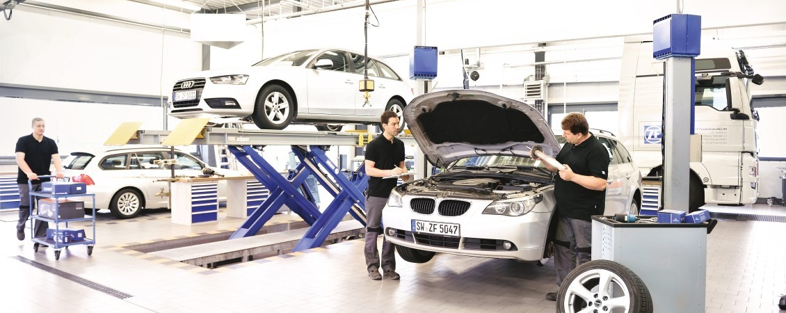 ZF Service [pro]Tech for passenger car workshops