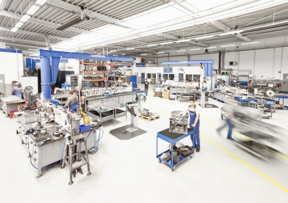 Service for rail vehicles from ZF Aftermarket – production shop